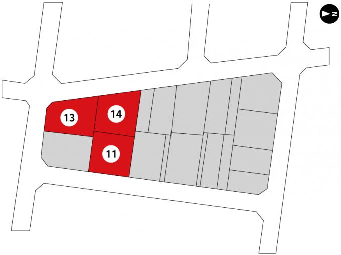 富山空港北土地区画整理事業地内保留地